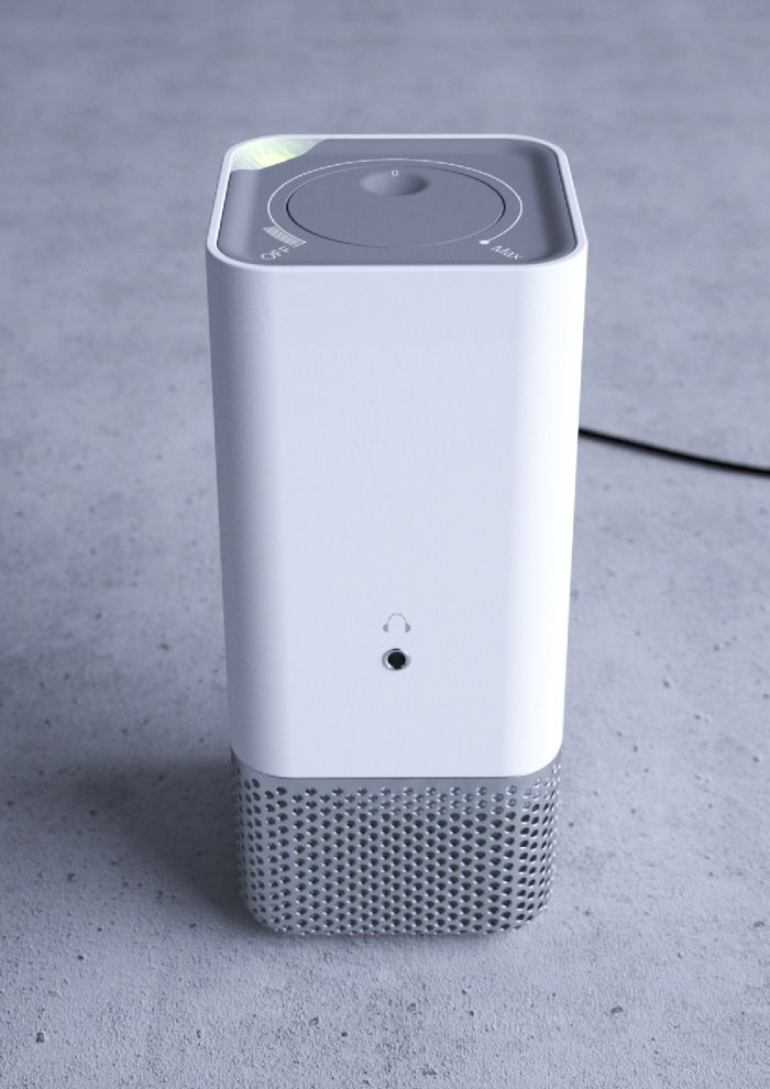 Desktop Speakers by Andrew Mitchell at Coroflot.com