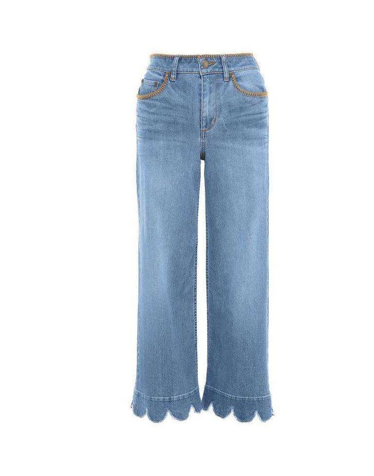 Jeans Primavera-Estate 2017 - Jeans orlo smerlato Red Valentino