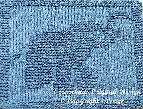 Knitting Cloth Pattern LITTLE BUTTERBALL PDF