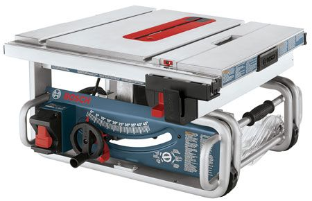 "Hot Deal: Bosch 10"" Portable Table Saw for $299"