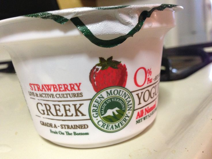 GREEN MOUNTAIN CREAMERY GREEK YOGURT