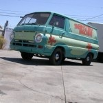Scooby-Doo Mystery Machine-Themed Van For Sale in California...Oooooh I need this!!!