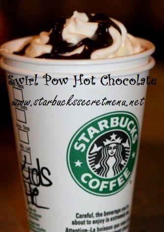 starbucks swirl pow hot chocolate starbucks my fav starbucks swirl ...