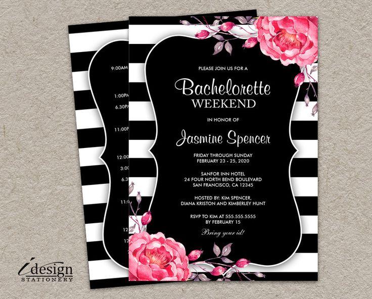 31 best images about Bachelorette Party Invitations – Bachelorette Party Weekend Invitations