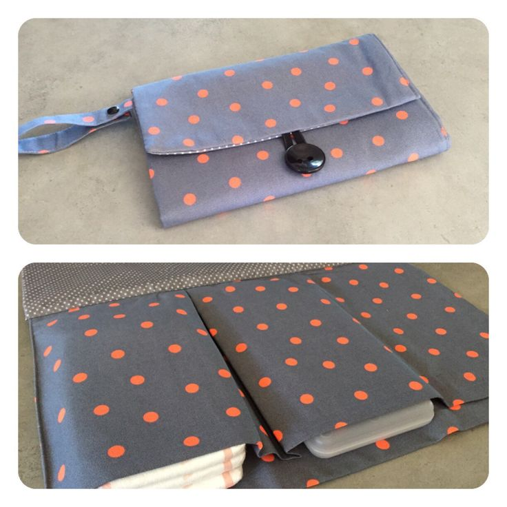 Nappy wallet with attached change mat by schwuppdiwupp on Etsy https://www.etsy.com/listing/237710038/nappy-wallet-with-attached-change-mat