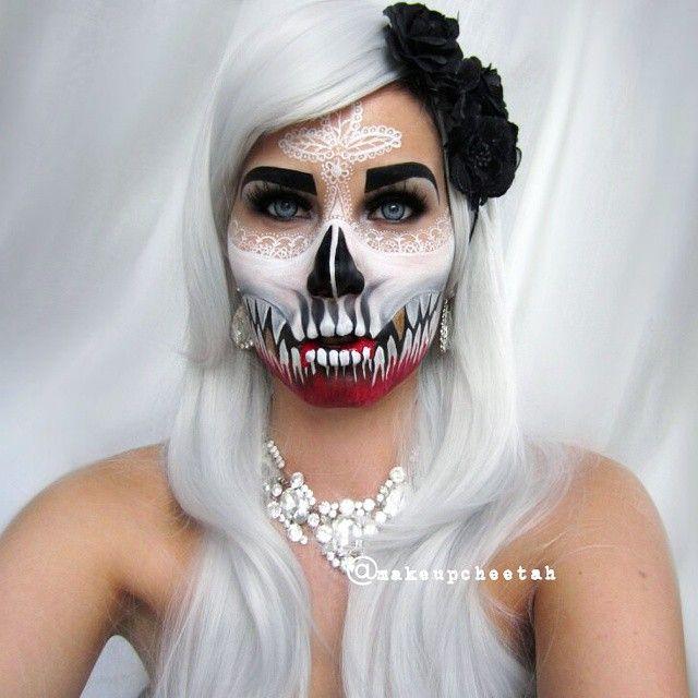 11 best Halloween looks images on Pinterest Artistic make up - halloween horror makeup ideas