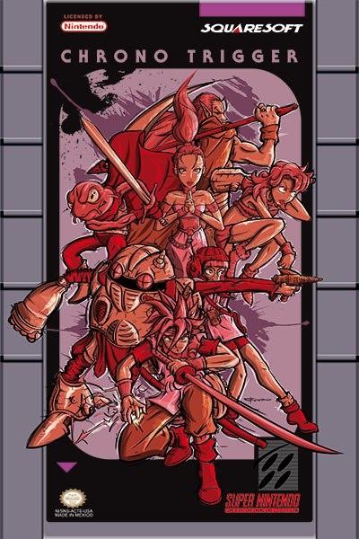 Artista: Christian Rodríguez Folkensio  Juego: Chrono Trigger