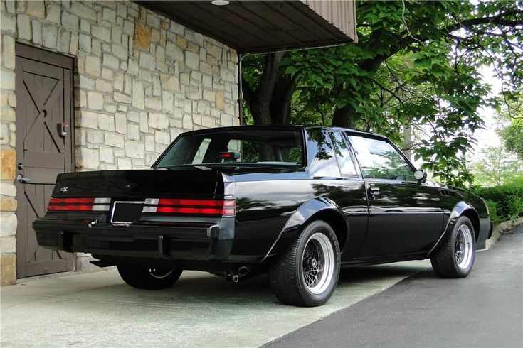 1987 BUICK GRAND NATIONAL GNX - Barrett-Jackson Auction Company - World's Greatest Collector Car Auctions