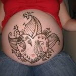 Henna Tattoo Designs and Meanings, Henna Tattoos While Pregnant: Henna Tattoos for Pregnant Women