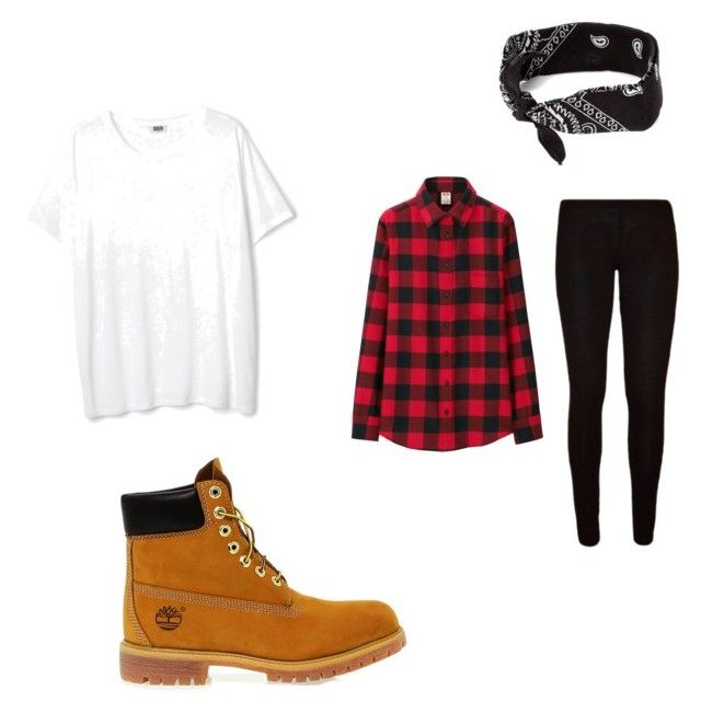 """""""American"""" by super19fam on Polyvore featuring beauty, Uniqlo, Timberland and claire's"""