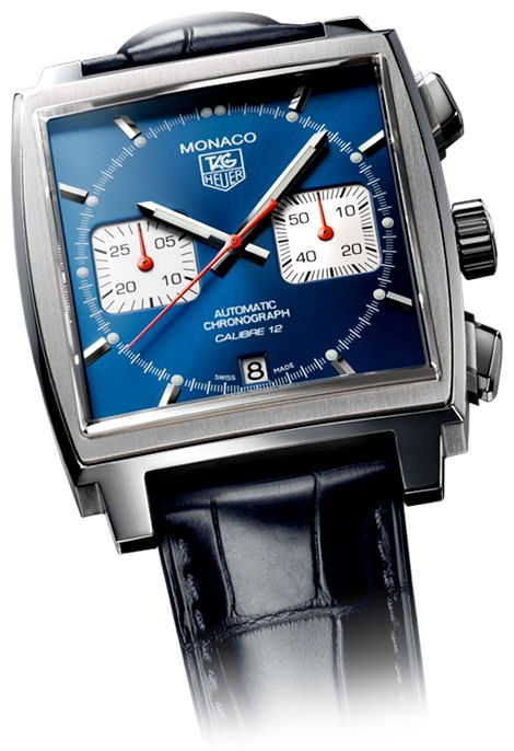 The Monaco watch by Tag Heuer.