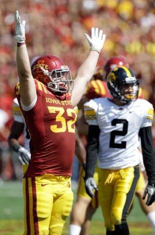 Iowa State beats Iowa 44-41 in 3 OT thriller!   Best.Game.EVER! 9/10/2011