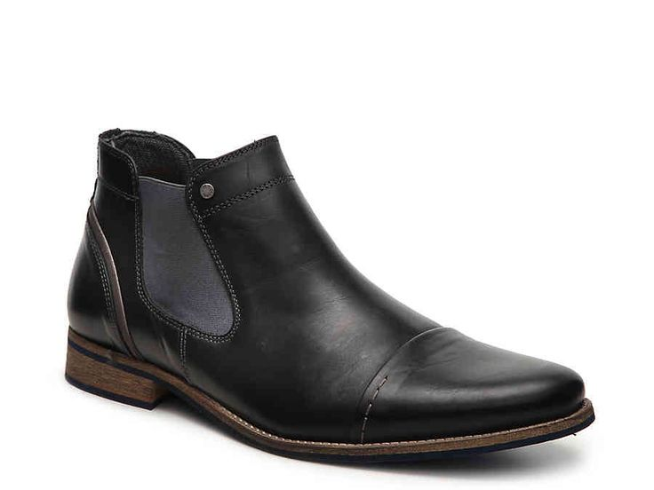 Bullboxer Navos Want | Boots, Cap toe boots, Chukka boots