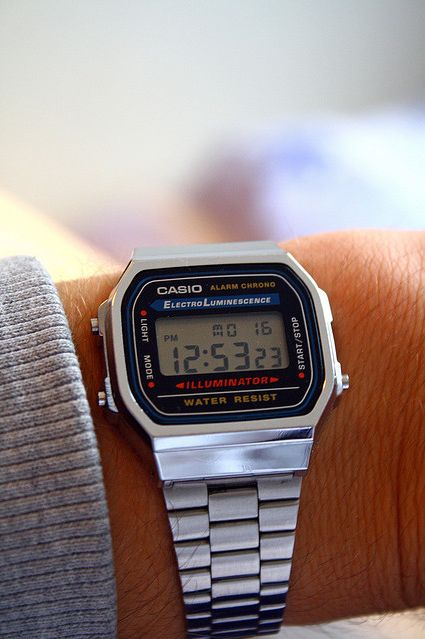 Casio ElectroLuminesence Vintage Digital watch