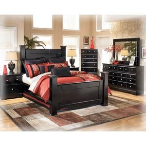 One of the many Ashley Furniture bedrooms sets we carry! Best deals in Alaska! SIX MONTHS SAME AS CASH! No big down payments! Free delivery!