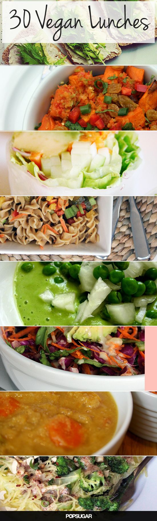 30 Vegan Lunch Ideas.