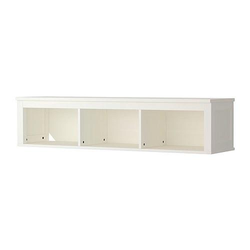 HEMNES Wandregal - weiß - IKEA  Für Sitzbänke unter dem Fenster