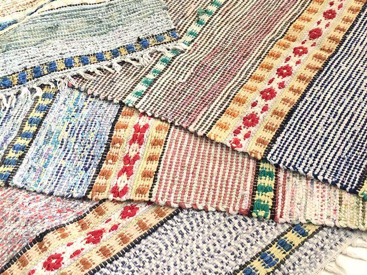 A personal favorite from my Etsy shop https://www.etsy.com/se-en/listing/580463965/nordic-handwoven-rag-rug-carpet