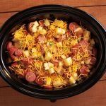 3 Slow Cooker recipes you can freeze!  Spicy Buffalo Chicken Sandwiches  Little Meats and Gravy  Cheddar Vegetable Sausage