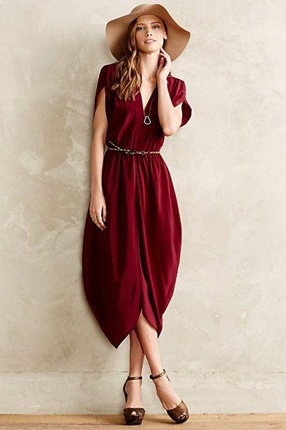 Silk Kimono Dress #anthropologie #anthrofave
