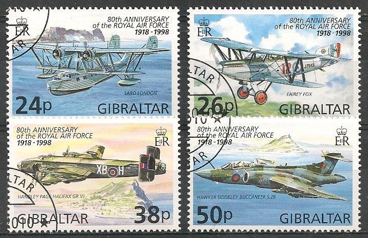 emisia n 1998 motivo 80 aniversario royal air force