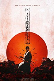 Action Drama.Manji, a highly skilled samurai, becomes cursed with immortality after a legendary battle. Haunted by the brutal murder of his sister, Manji knows that only fighting evil will regain his soul. He promises to help a young girl named Rin avenge her parents, who were killed by a group of master swordsmen led by ruthless warrior Anotsu. The mission will change Manji in ways he could never imagine - ...Japanese movie.