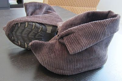 Staying Steyn: Peter Pan Costume and Tutorial (I'm doing these shoe covers for Gideon!)