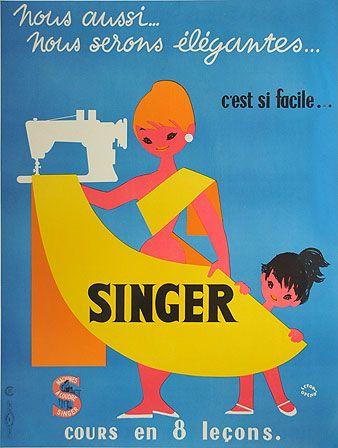 フランス ビンテージポスター clozzet