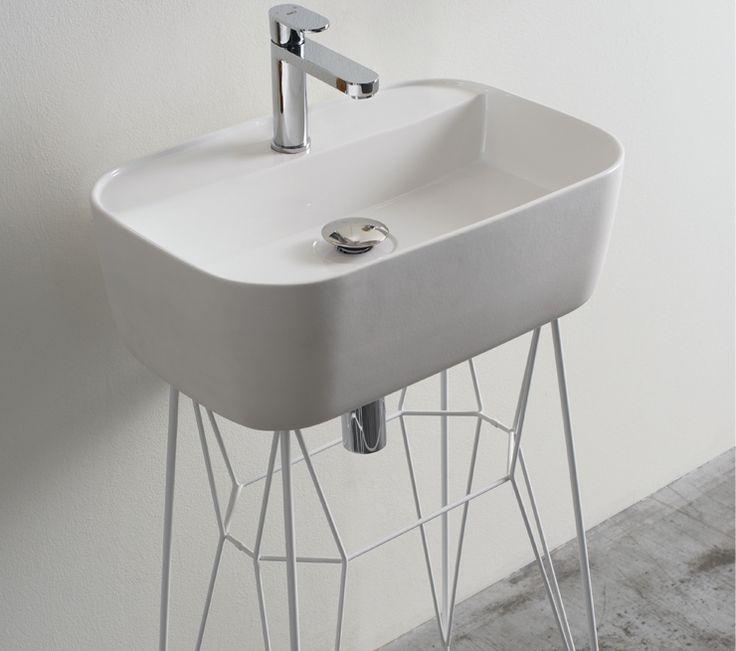 U0027gusu0027 Ceramic Bathroom Washbasin By Michael Hilgers