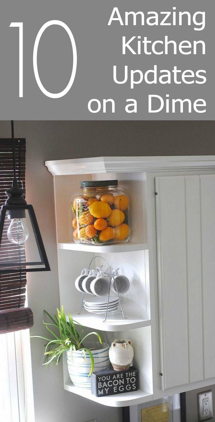 10 amazing kitchen updates on a dime kitchen updates for Kitchen update ideas