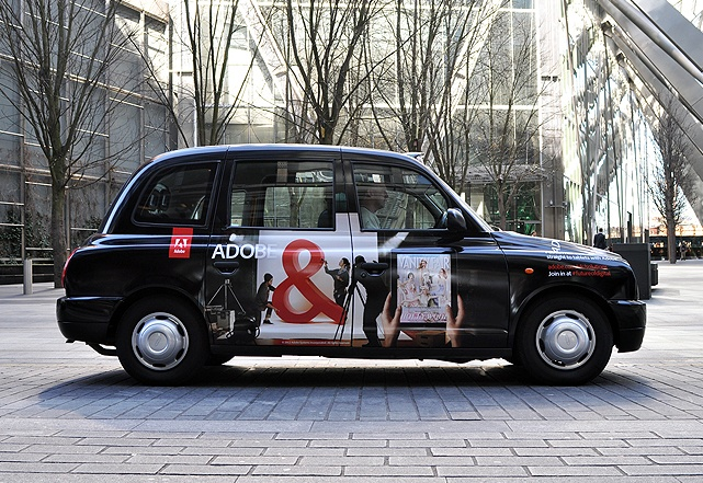 advertising on taxi
