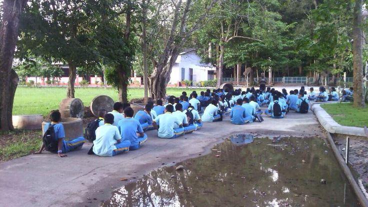 Skoleundervisning i Thailand.