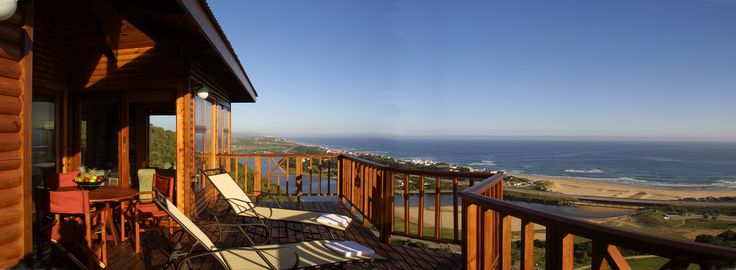 View from the Self Catering Units deck of Wilderness Beach, Garden Route, South Africa www.boardwalklodge.co.za