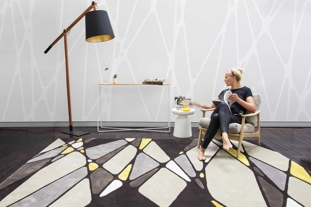 Vena Carva, part of the Bleux Neighbourhood collection from Designer Rugs.