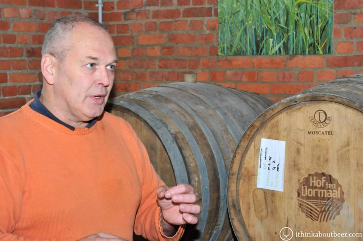 Andre Janssens Standing with his Barrels