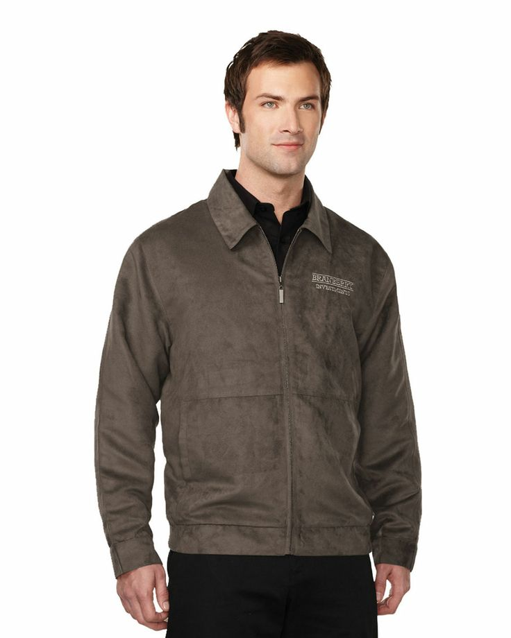 Suede Jacket mens with polyester printed lining   Style#: Tri mountain J2930 #Suede #Jacket #Women #polyester #Trimountain #fashion #stylish