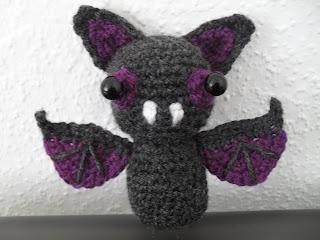 Wonderland of Ash: Sonar the Bat - free crochet pattern