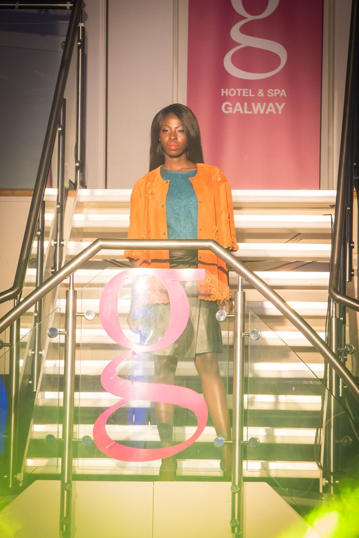 Emma Manley showcasing at Glamour at the g 2014 www.theghotel.ie