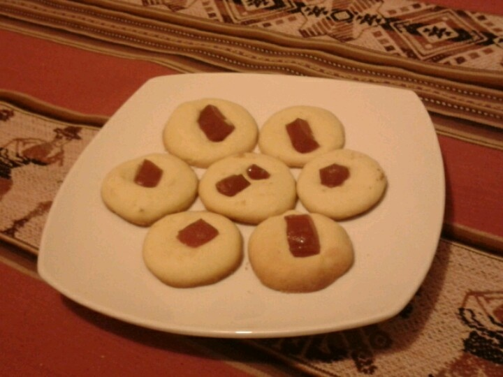 Pepitas: galletas con dulce de membrillo