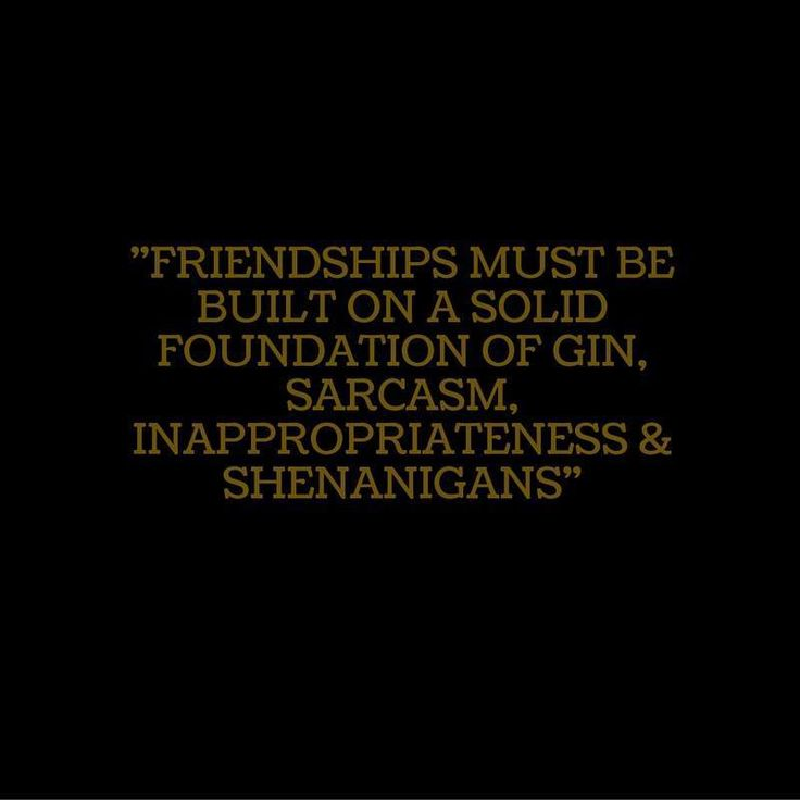 But mostly gin...