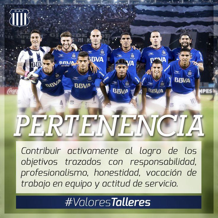 Valores Talleres Club Atlético Talleres  Te invitamos a repasar en los Medios de Comunicación de la T los principales Valores del Club que hacen a la Mística Talleres.  Conocelos con el hashtag #ValoresTalleres en las redes sociales.  via IFTTT