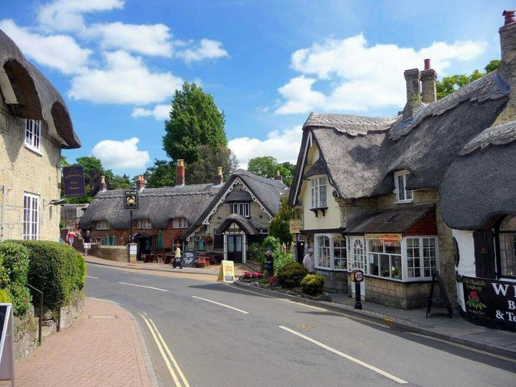 Shanklin old village, Isle of Wight, England.