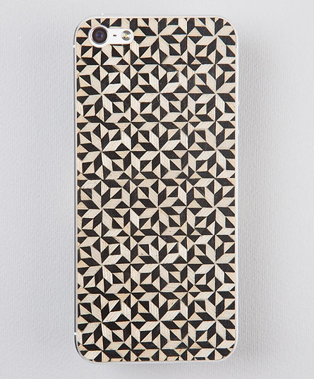 Taracea wood skins for iPhone5 - KALEIDOSCOPE