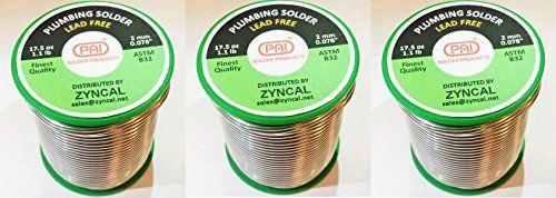 PAI Plumbing Solder (16 Oz (3-Pack))