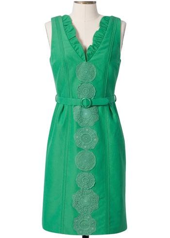 I love green dresses!!!