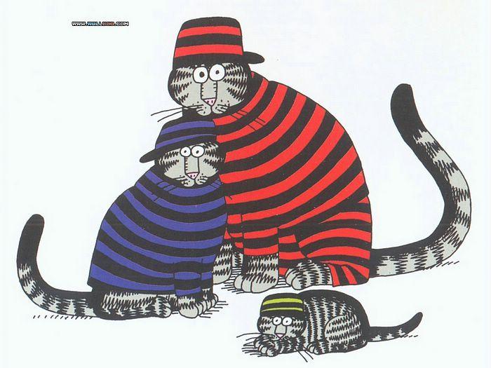 Cat Dreams Amusing Cartoons By Bernard Kliban