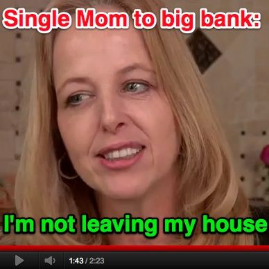 Citibank is trying to force a single mother of 3 out of her home — after she paid her mortgage on time.     You can do something about that if you click through here.     You should also probably repin this so more people can help Citibank understand what happens when you try to steal from people. Especially from moms with activist sons.Extraordinary Women, Closed Art Photography Women, Single Moms, Single Mothers, Social Justice