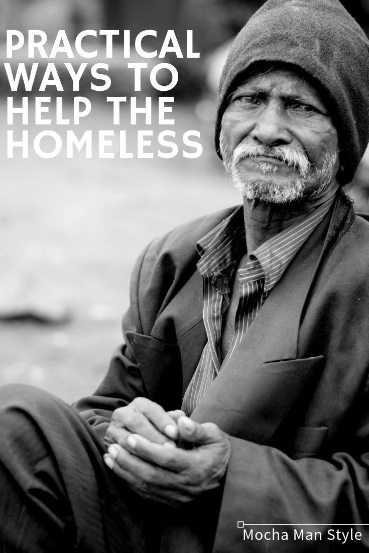How do i help a homeless person