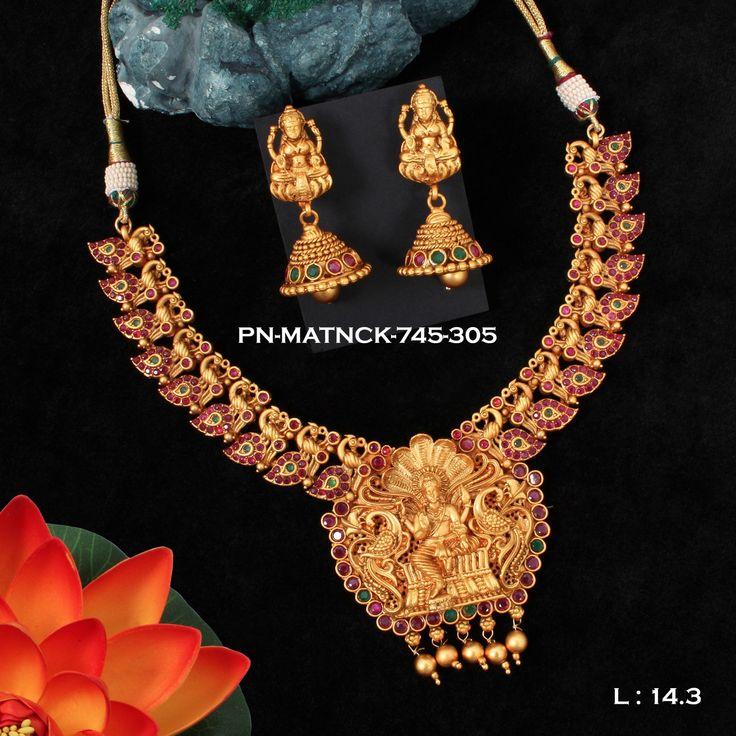 Designer Traditional Antique Necklace Set
