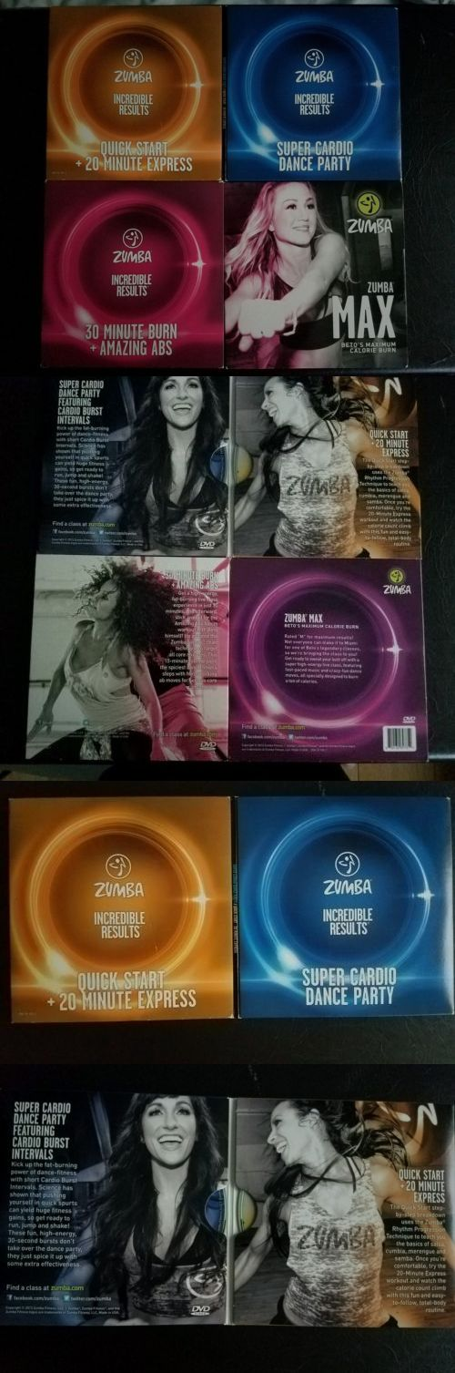 Fitness DVDs 109130: Zumba Incredible Results Set Of 4 Cardio Dance Workout Dvds Fast Free Shipping BUY IT NOW ONLY: $45.0